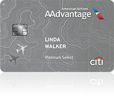 Citi AAdvantage Platinum Select MasterCard for American Airlines