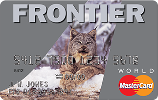 The Frontier Airlines World MasterCard